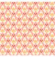 Dots pink vector image vector image