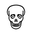 Zombie icon vector image vector image