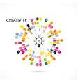 Creative Icon Logo Circle Icon Logo Abstract Icon vector image