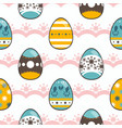 pattern for happy easter day vector image