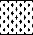 seamless rhombs geometric black and white pattern vector image
