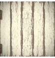 Old wooden textured background vector image