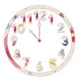 Vintage clocks vector image vector image