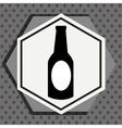 Premium beer graphic vector image