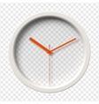 Realistic Wall Clock vector image vector image
