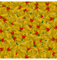 golden holly background vector image vector image