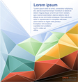 Abstract background flyer for print vector image