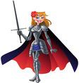 princess knight vector image vector image