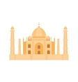 Cathedral churche temple building vector image