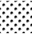 baseball helmet pattern vector image