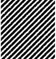Diagonal pattern of black grunge stripes vector image