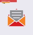 OPENED-E-MAIL vector image