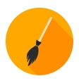 witches broom flat vector image