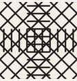 zigzag lines geometric seamless pattern vector image