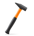 tool hammer 02 vector image
