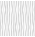 White and gray vertical soft wave texture vector image