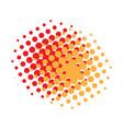 comic halftone pattern vector image