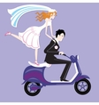 Wedding moto vector image