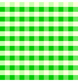 Vintage Tablecloth Pattern Green vector image