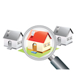 Searching for a new home concept vector image