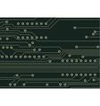 Circuit board vector image vector image