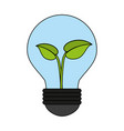 ecology concept save world icon vector image