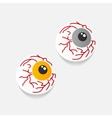 realistic design element eye vector image