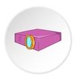 Projector icon cartoon style vector image