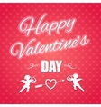 Holiday banner for Valentines day vector image