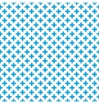 Tile blue and white background vector image vector image