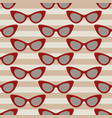 classic glasses pattern vector image