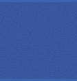 navy blue leather pattern vector image