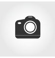 reflex camera icon flat design vector image