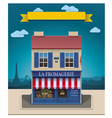 cheese shop vector image