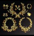 laurel wreath vector image