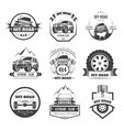 off-road extreme car or auto driver club vector image