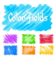 color fields vector image