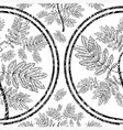 seamless tree pattern 09 grunge vector image vector image