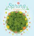 Flowers Spring Season Background vector image