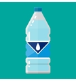 plastic bottle of pure water vector image