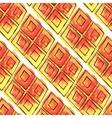 Watercolor rhombus seamless pattern vector image vector image