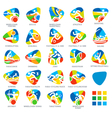 Paralympics Icon Pictograms Set 4 vector image