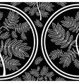 seamless tree pattern 09 vector image