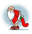Bad Santa vector image vector image