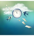Time Abstract Concept Design vector image
