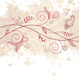 pattern doodle pink vector image vector image