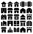 Building and Furniture Icons 10 vector image