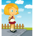 Ready for school vector image vector image