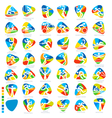 Olympics Icon Pictograms Set 1 vector image