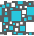 seamless pattern of squares vector image
